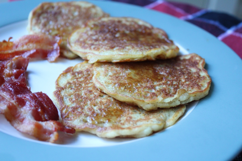 Delicious and Nutritious Oatmeal Pancake Mix (gluten free version update*)
