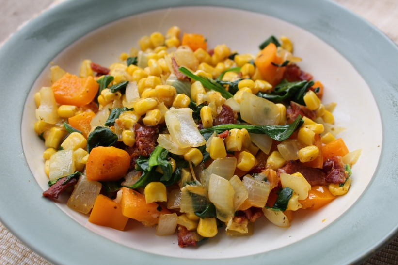 Breakfast Succotash