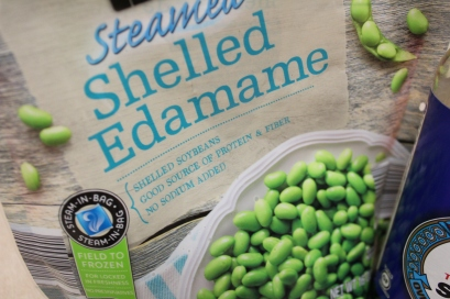 Edamame (frozen soy beans)